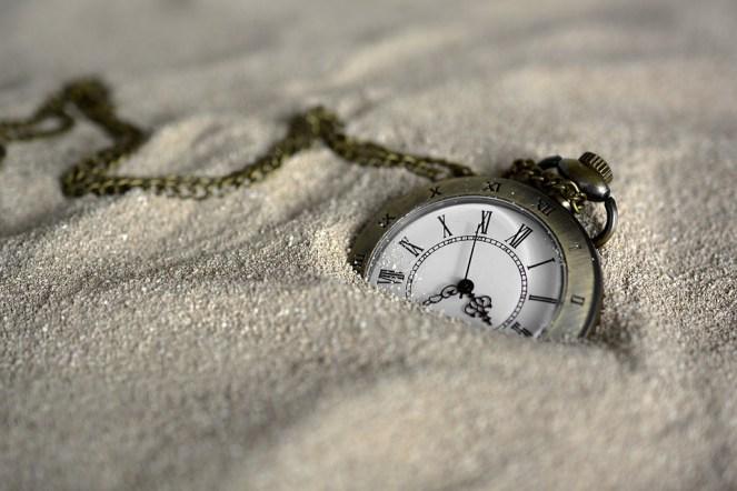 Relógio De Bolso, Tempo De, Areia, Tempo, Relógio