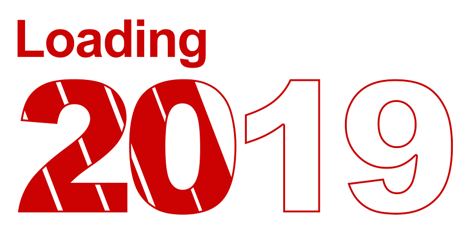good year 2019 greetings