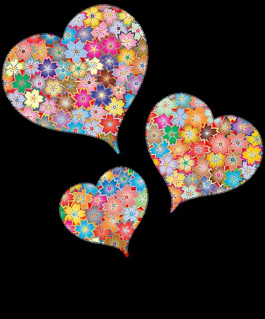 Corazones Flores Mujer  Imagen gratis en Pixabay