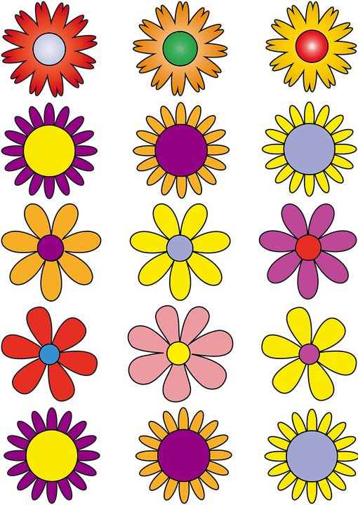 flowers vector free image