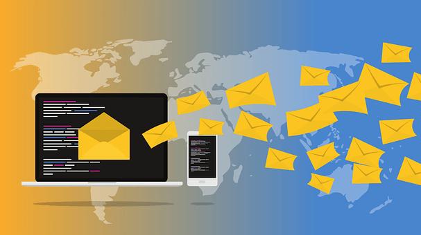 電子メール, ニュースレター, マーケティング, オンライン, 通信, メール