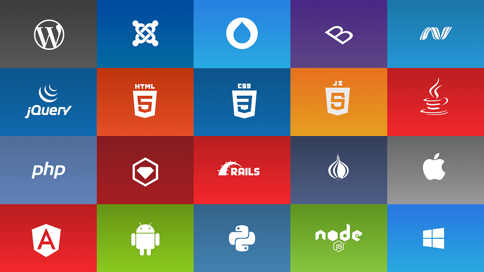Apple, Microsoft, Android, WordPress, and programming languages that can access them