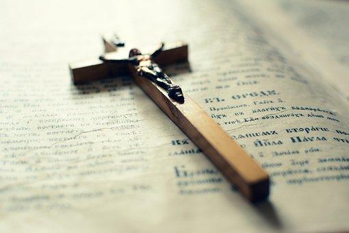Holy Cross, Bible, Prayer, Old Book