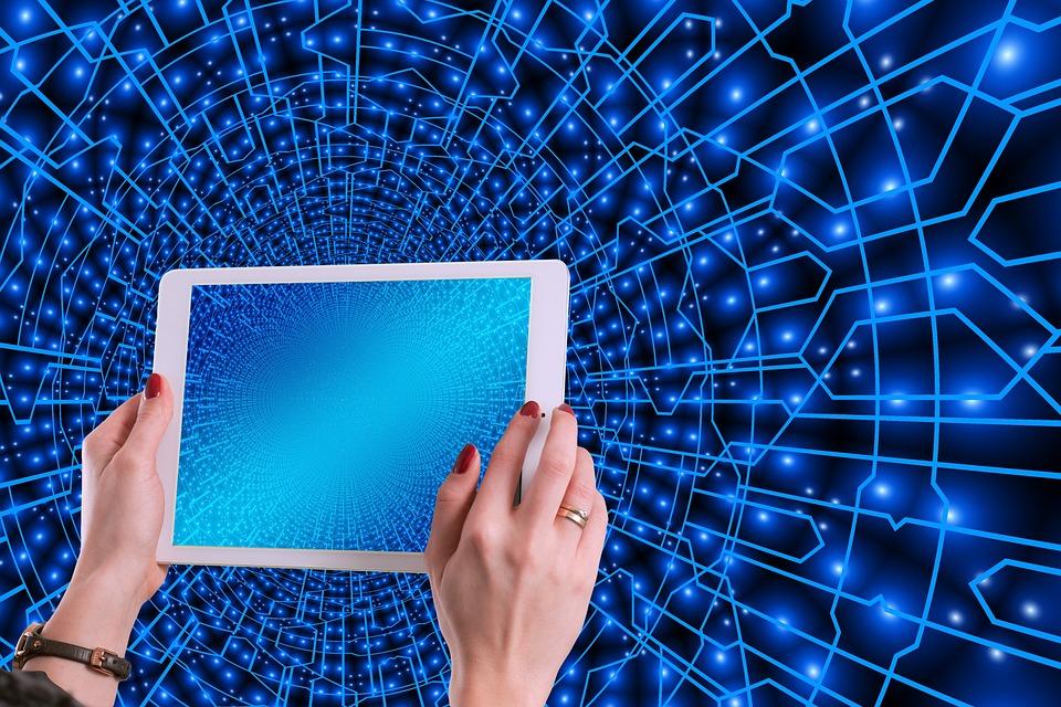 Sistema, Web, Rete, Connessione, Collegato, Con L'Altro