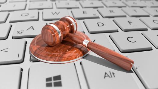 Cyber, Law, Legal, Internet, Gavel, Gray Internet