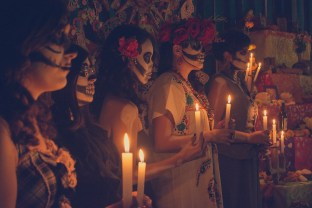 Halloween traditions across the globe People, Religion, Flame, Day Of The Dead, Old, Darkness