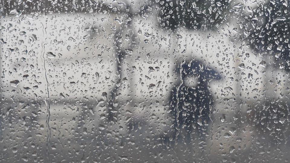 abstract rainy day umbrella