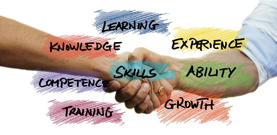 スキル, ことができます, スタートアップ, を起動します, 財団, ビジネス, 手, 会社, 書きます