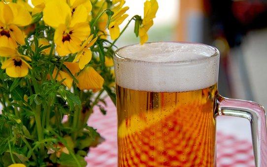 Birra, Vetro, Drink, Birreria All'Aperto
