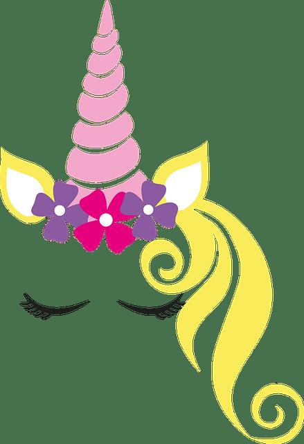 Unicorn Crown Flower Free Vector Graphic On Pixabay