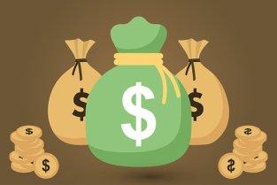 Money Bags, Cash, Money, Bag, Dollar