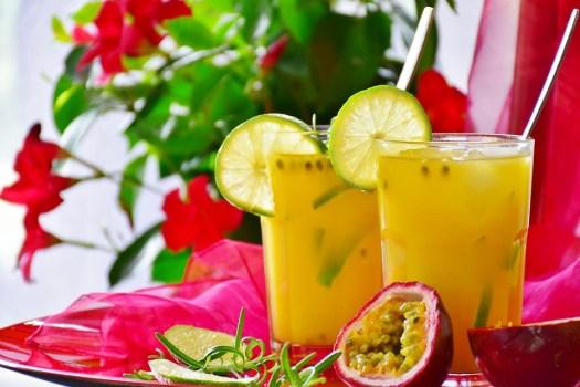 Cocktail, Arancione, Frutto Della Passione