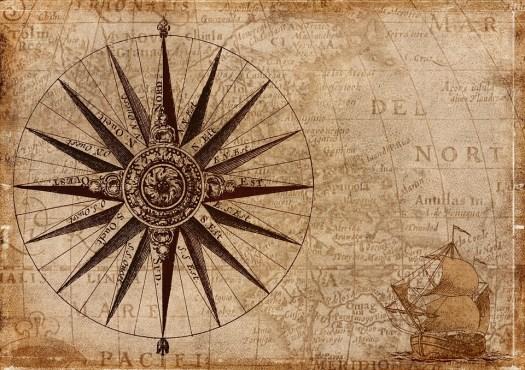 Bussola, Mappa, Nautica, Antiquariato, Navigazione