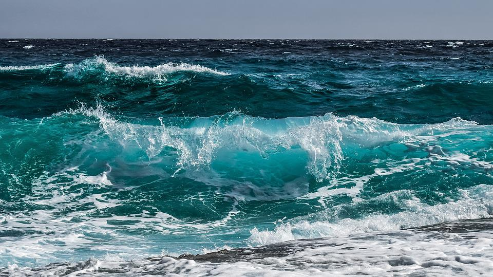 Wave, Water, Surf, Ocean, Sea, Spray, Wind, Splash