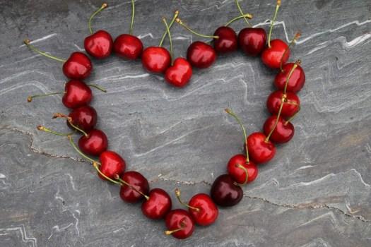 Ciliegie, Cuore, Rosso, Simbolo, Per Voi, Frutti Rossi
