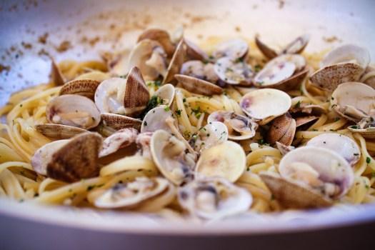 Pasta, Spaghetti, Vongole, Street Food, Cibo, Piatto