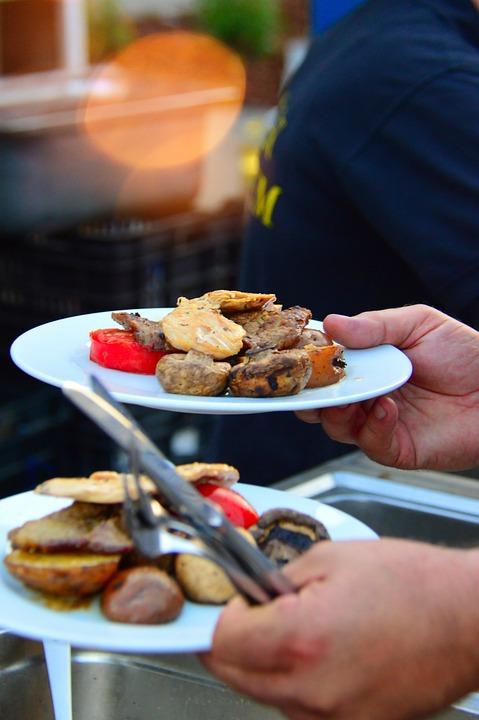 kitchen grills kohler faucet repair 烤架板食品 pixabay上的免费照片 烤架 板 食品 午餐 厨房 鸡 提供 炸鸡 烤鸡 烘烤 美食 辣 肉