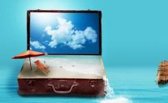 Fantasie, Reizen, Vakantie, Bagage, Zee, Strand, Ga Weg