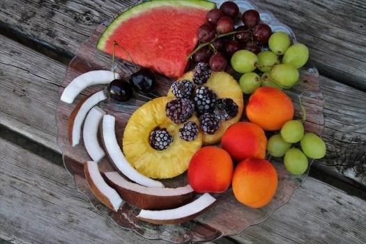 Frutta, Piastra, Antipasto, Fresco, Nutrizione