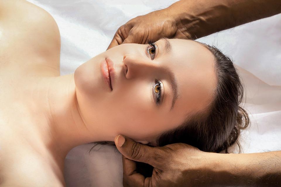 Massage De La Tête, Ayurveda, Relaxation, Bien Être