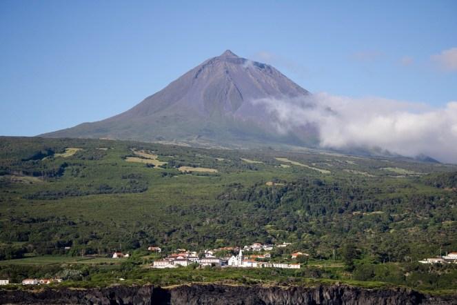 Natureza, Paisagem, Vulcão, Montanha Do Pico, Aldeia