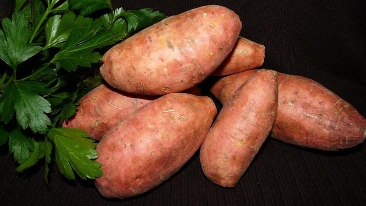 Vegetable, Red, Sweet Potato, Food, Garden, Cooking