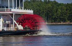 Paddle Wheel, River Boat, Stern Wheel