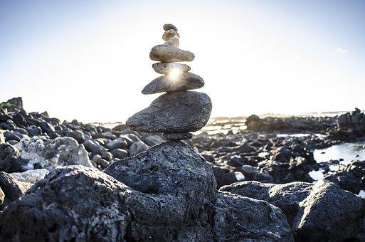 Zen, Rock Cairn, Rocks, Cairn, Nature