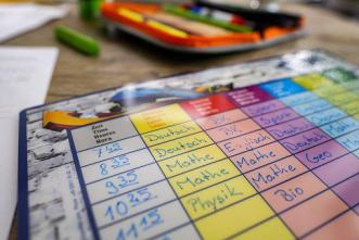 Timetable, Plan, Time, School, Learn deberes