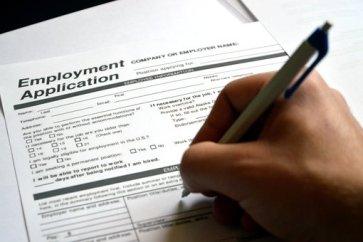 Bewerbung, Bewerbungsformular, Bewerben Ihr Kredit ist bereit