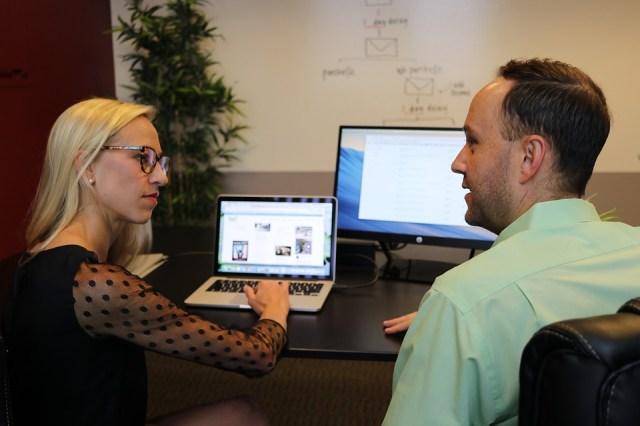 Klient, Forretning, Markedsføring, Hjemmeside, Online