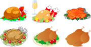 Turkey Dinner, Thanksgiving, Christmas