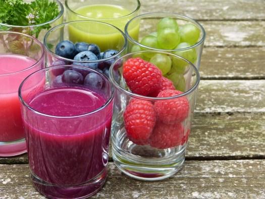 Frutta, Succo, Frullato, Vitamine, Frutti Di Bosco