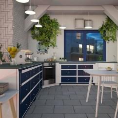 Blue Kitchen Chairs Oval Table Sets 厨房蓝色白 Pixabay上的免费照片 厨房 蓝色 白 烹饪 设计 表 椅子 水果 采光 吊灯 铺路