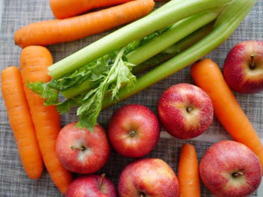 Frutta, Verdure, Sedano, Mele, Carota, Фрукторианство