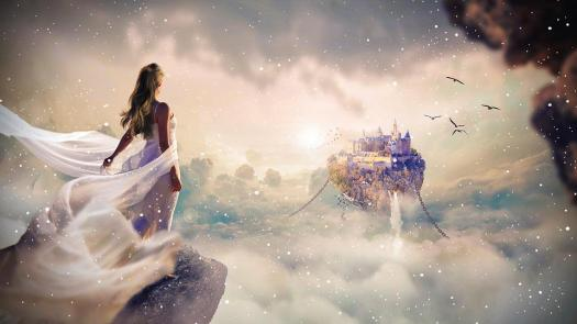 Fantasy, Photoshop, Magie, Photomontage, Conception