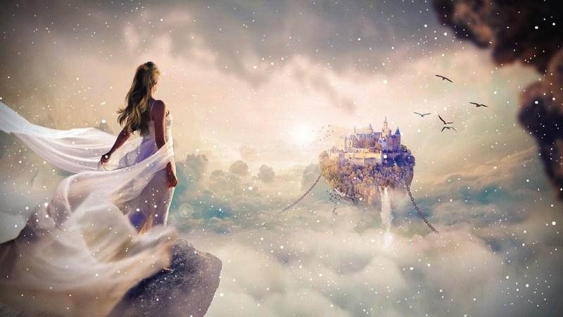 Fantasy, Photoshop, Magie, Photomontage, Conception