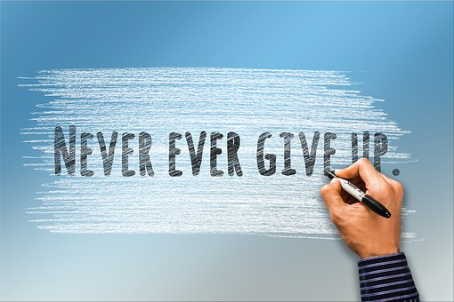 Entrepreneurial lifestyle of never give up