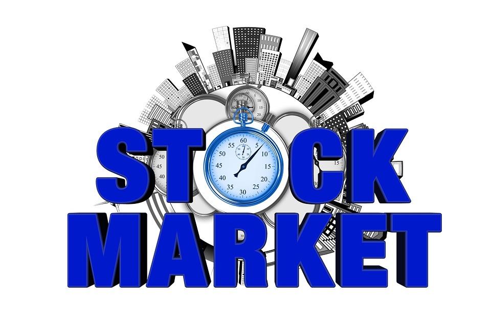stock exchange clock stopwatch