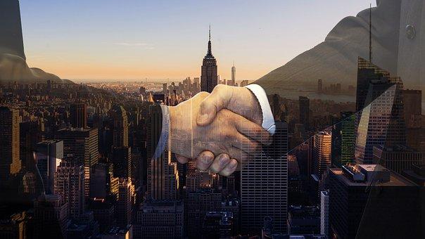 Handshake, Contract, Buyer, Dealer- Real estate investment trust