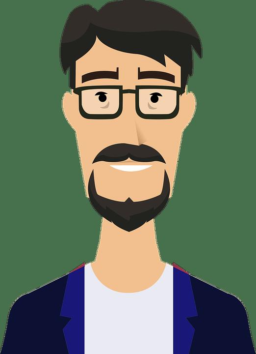 Orang Vector Png : orang, vector, Portrait, Vector, Graphic, Pixabay