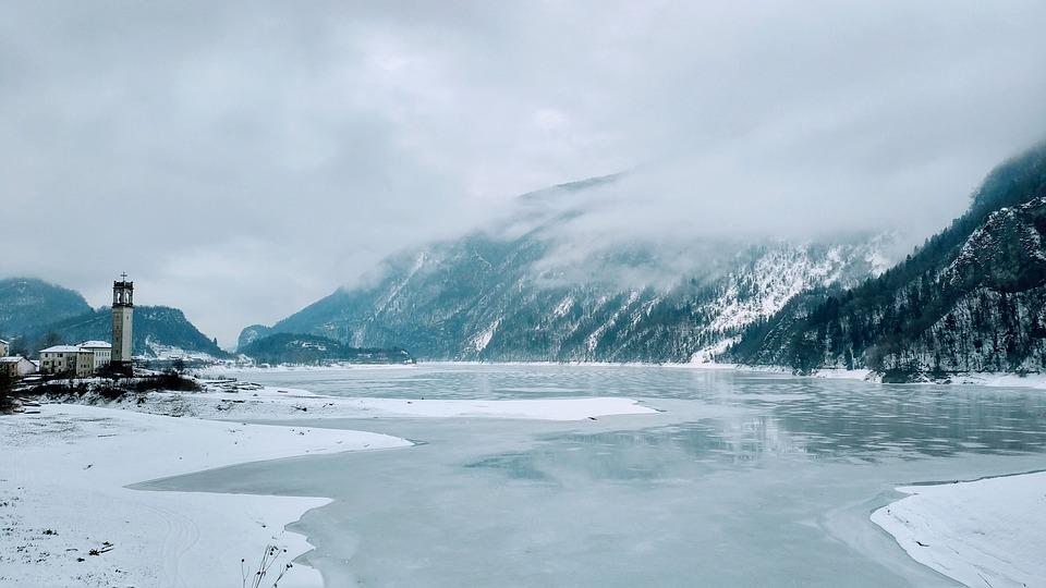 The Frozen Lake Winter Snow Iced - Free photo on Pixabay