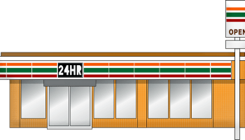 Japanese Interesting Culture No.7 convenience store