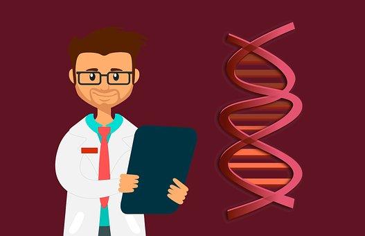 Dna, Doctor, Lab, Helix, Biology