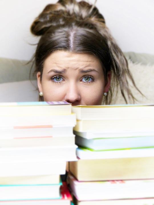 Menina, Mulher, Pressão Para Executar, Aprenda, Livro