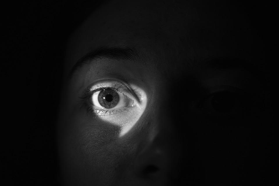 Occhio, Leggero, Ombra, Guardare, Spy