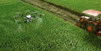 Dji, La Agricultura, Uav, Agricultura