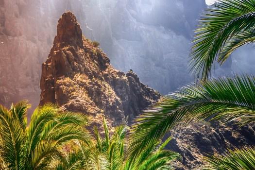 Masca, Tenerife, Isole Canarie, Burrone Masca, Rock