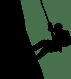 マウンテニア, 登る, シルエット, 登山スポーツ, 登山, 登山家