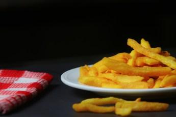 Frecn揚げ物, ジャガイモ, ホット, スナック, 健康, ソース, 辛い, 食品